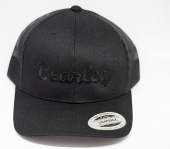 Bearley black snapback