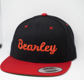 Bearley red snapback
