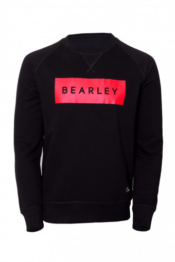Bearley red block hoodie/sweater